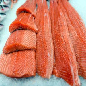 salmon filetes